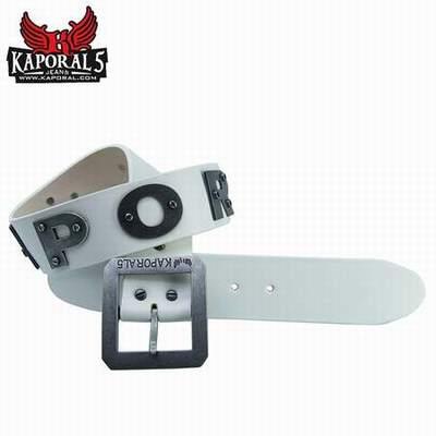 ceinture kaporal blanche homme,ceinture sangle bali kaporal 5,ceinture  kaporal egon e22bf6c97a2